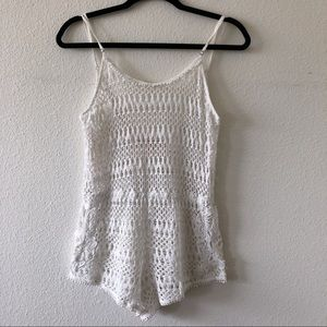 VS crochet swimsuit cover-up